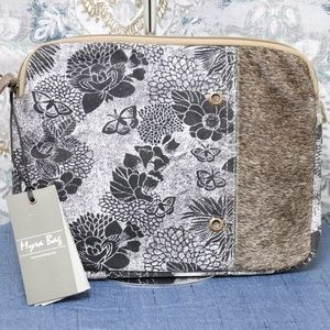 Myra Bag Floral and Hairon iPad case